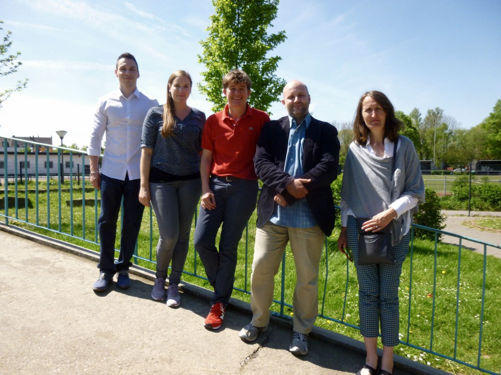 Dennis Vogel, Deutsch und Geschichte Elisa Klein, Deutsch und Englisch Deine zauberhafte Co.... Dr. Raphael Bolinger, Mathematik und Philosophie (von links nach rechts)