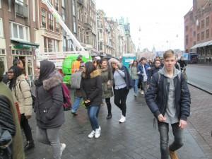 Die 10er besuchen das Anne-Frank-Haus
