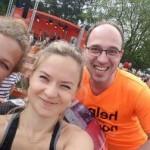 Lehrer starten als AFG-Runners beim B2Run