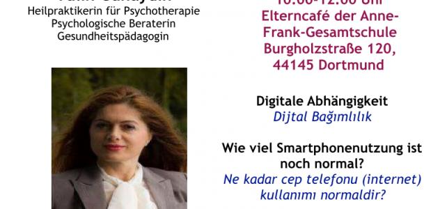 Unser Elterncafé informiert über die Gefahren digitaler Abhängigkeit