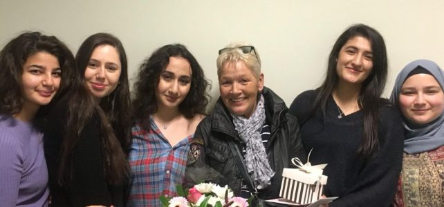 30 Jahre an der AFG – SV verabschiedet Frau Merbs in den Ruhestand