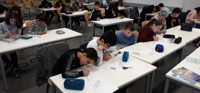 Wir können Mathe! – Jahrgang 5 nimmt am Känguru-Wettbewerb teil
