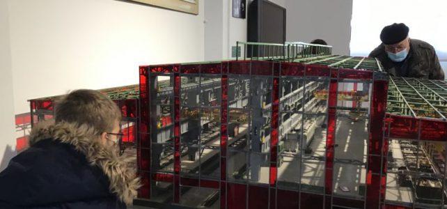 Klasse 6.4 ist dem Stahl auf der Spur – Hoesch-Projekt ist ausstellungsreif